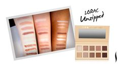 NOTE TO SELF: LORAC Unzipped Palette (the picture shows how the eyeshadows would appear on light, medium, and dark skin tones) | Buy for the Fall. It creates a glowy (not shimmery) look.