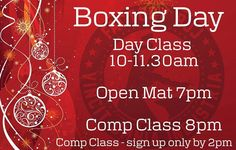 If you're looking to work off those mince pies we've got three classes on tomorrow. If you're coming to the Comp Class you need to be signed up on the app or via FactoryBJJ.com by 2pm. Happy Christmas everyone! #BJJ #FactoryBJJ #BJJinManchester