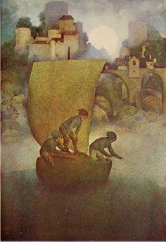 Alphonse's Room: Maxfield Parrish - Nursery Rhymes & Poems of Childhood