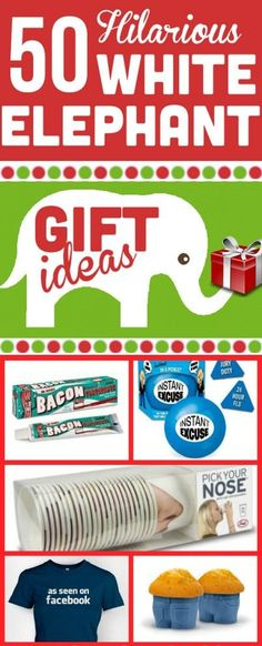 Going to a White Elephant gift exchange this holiday season? Give some of these fun ideas a try!