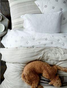 Textured/patterned linen | West Elm