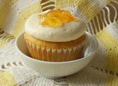 Tea party cupcakes. Citrus tea flavored