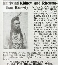 Whirlwind Kidney and Rheumatism Remedy (1910)