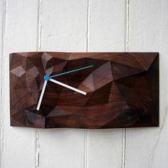 Such + Such (Block Clock 12x6 Walnut now featured on Fab.)