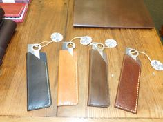 Handmade Custom Cajun Leather Works Comb Sheath With Comb Option EDC Every Day Carry Personalized Groomsmen Gift TY by CajunLeatherWorks on Etsy