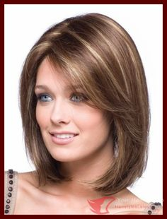 Pictures Of Shoulder Length Hairstyles For Women Over 50   HAIRSTYLE …