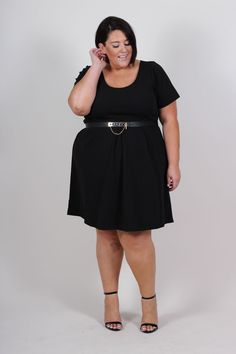 Model Radical Red & Perfect Dress (Sizes 14 to 24) | O U T F I T S ...