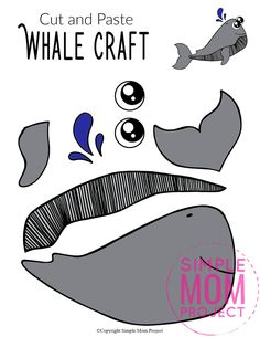 Looking for the best ocean animal crafts for your kids? These easy ocean animal crafts have 20+ fun cut and paste templates to keep toddlers, preschoolers or even big kids amused for hours. Including our popular dolphins, sea turtles, jellyfish, octopus and many more these are sure to be a big hit with your kids for fun craft activities or even homeschooling lessons. Click here to grab these awesome ocean animal craft templates today. #oceananimalcrafts #oceanfriends #underwateranimalcrafts Sea Animal Crafts, Whale Crafts, Animal Crafts For Kids, Craft Projects For Kids, Kids Learning Activities, Craft Activities, Toddler Preschool, Preschool Class, Sun Crafts