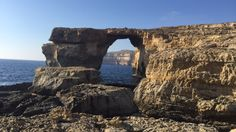 The Azure Window on the Maltese island of Gozo. This place is as beautiful in real life as it is in screen. Do you remember GOT Khaleesi's wedding was shot here? Got Khaleesi, Island Life, Maltese, Serenity, Real Life, Window, Places, Wedding, Travel