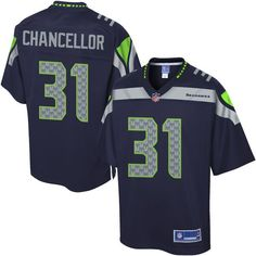 Youth Seattle Seahawks Kam Chancellor NFL Pro Line Team Color Jersey