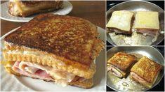 Συνταγές αλμυρές για μπουφέ, παρτυ ,γενεθλια Currant Jelly, Grilled Ham And Cheese, King Arthur Flour, Confectioners Sugar, Food Styling, Fries, French Toast, Sandwiches, Food Porn
