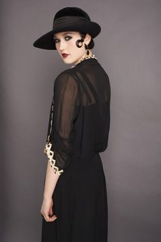 #1920s #Fashion #TheGreatGatsby, J, I thought of you when I saw this one, she is serving it up Gatsby style:-)