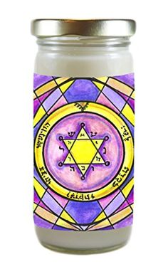 King Solomons Second Pentacle of Jupiter, for Glory, Honor, Wealth, Success & Serenity 8 Ounce Scented Soy Meditation Prayer Candle Artisan Courtyard http://www.amazon.com/dp/B00YLTINBO/ref=cm_sw_r_pi_dp_UZgDvb1GES47K