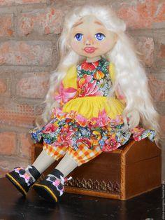 Купить Текстильная кукла - текстильные куклы, ручная работа купить, подарок на день рождения