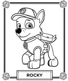 paw patrol la pat patrouille dessin pinterest. Black Bedroom Furniture Sets. Home Design Ideas
