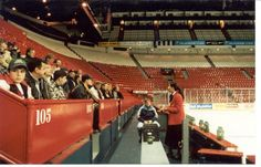 Inside the old Mecca of Hockey - the Montreal Forum | Montreal Canadiens | NHL | Hockey