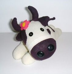 how to make a sock cow - Google Search