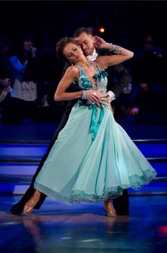Winners of Strictly Come Dancing 2010. Kara Tointon and Artemis Chigvintsev.