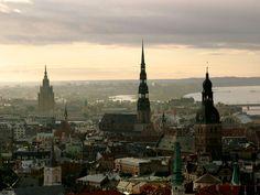#Uitzicht #Riga #Letland #stedentrip