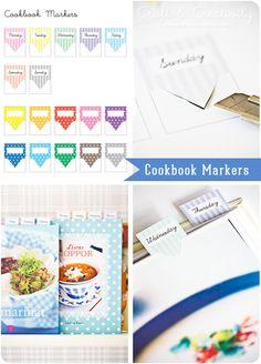 Cookbook markers