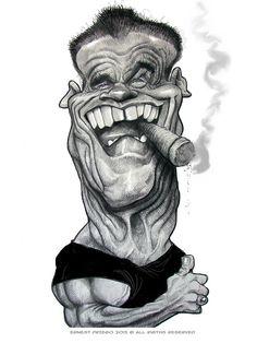 Arnold Schwarzenegger by Ernesto Priego