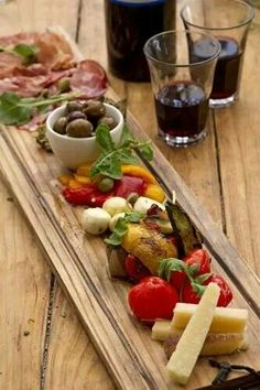 Antipasti - like the presentation