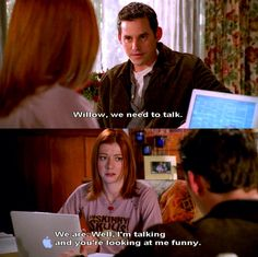 Xander and Willow - Buffy the Vampire Slayer