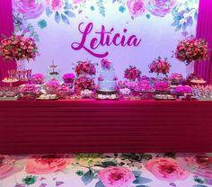 15th Birthday Decorations, Wall Backdrops, Flamingo Party, Sweet 15, Neon Signs, 15 Years, Sailor Moon, Amanda, Pockets
