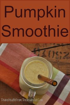 Pumpking smoothie Breakfast - You Can't Live Without It: Pass The Smoothie! Breakfast Smoothies, Paleo Breakfast, Breakfast Recipes, Breakfast Ideas, Juice Smoothie, Smoothie Drinks, Fitness Smoothies, Gluten Free Pumpkin, Pumpkin Recipes