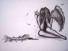Image result for pencil drawings of fallen angels