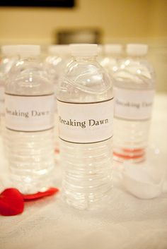 Breaking Dawn water