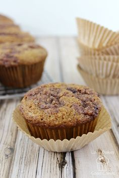... Muffins : Fruit on Pinterest | Muffins, Banana crumb muffins and