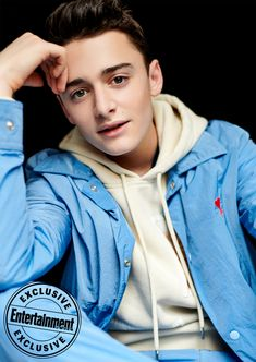 'Stranger Things' season 3 cast will turn your world upside down in exclusive EW portraits - Noah Schnapp Source by SVNNIVIBES - Stranger Things Actors, Stranger Things Season 3, Stranger Things Netflix, My Future Boyfriend, To My Future Husband, Millie Bobby Brown, Ex Amor, Noah, Cute Actors