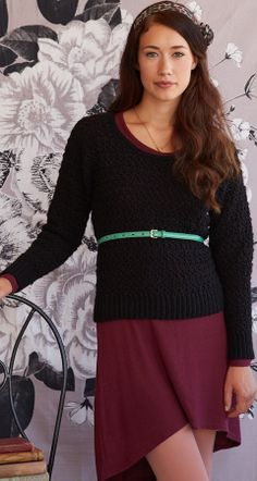 Skye Sweater   crochet today