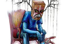 THE FALSE MAERO--#17 Alex Pardee, Creepy Pictures, Top List, Weird Art, Dark Art, Artsy Fartsy, Horror, Crazy Art, Culture