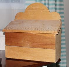 Wooden Mailbox to Shabby Chic Charging Station