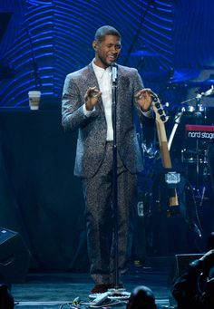 """Usher Photos: Clive Davis & The Recording Academy's 2013 Pre-GRAMMY Gala And Salute To Industry Icons Honoring Antonio """"L.A."""" Reid - Show"""