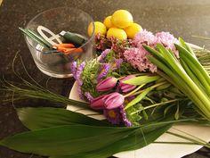 Fun DIY spring bouquet // sarah von pollaro