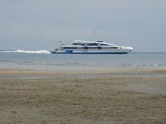 Ms Tiger II #sneldienst #catamaran #Waddenzee #doeksen @Rederij Doeksen #terschelling #Vlieland #Harlingen (credits foto: Marlyse)