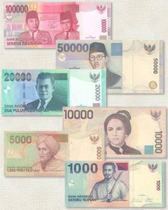 Indonesian currency - and what you need to know Money Worksheets, Money Notes, Old Money, World Coins, Vintage Labels, Postage Stamps, Bali, Passion, Marvel