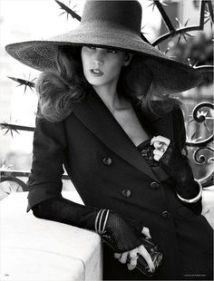 Kendra Spears by Giampaolo Sgura for Vogue Germany October 2012