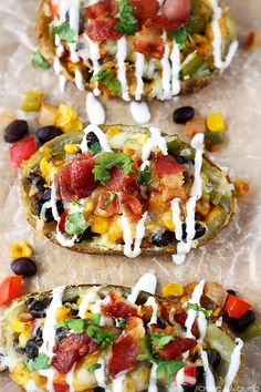 Loaded Southwest Potato Skins