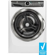 Electrolux EFLS617SIW 4.4 cu. ft. Front-Load Washer w/ Perfect Steam & SmartBoost Technology - White