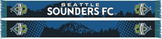 Seattle Sounders FC Mt. Rainier design. Officially Licensed MLS Merchandise.   Scarves Up Seattle!
