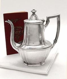 Gorham Silver Coffee Pot c. 1916