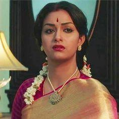 Indian Long Hair Braid, Braids For Long Hair, Bridal Blouse Designs, Saree Blouse Designs, Beautiful Bollywood Actress, Beautiful Indian Actress, Keerti Suresh, Indian Gowns Dresses, Demi Rose