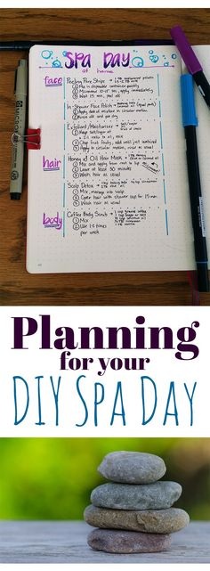 Planning your diy spa day in your bullet journal mom and daughter diy home spa night Diy Spa Day, Spa Day At Home, Body Spa At Home, Spa Day For Kids, Spa Party, Sleepover Party, Spas, Face Peeling, Spa Tag