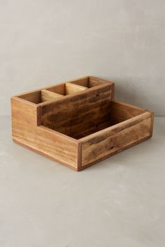 Reclaimed Wood Catchall - anthropologie.com