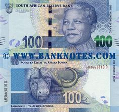 South Africa 100 Rand 2012