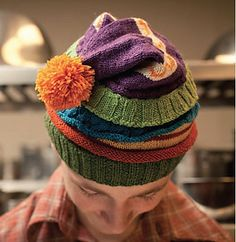 The ultimate Harry Potter geek hat! Made to look like 5 hats worn one on top of the other. Fans will get it.